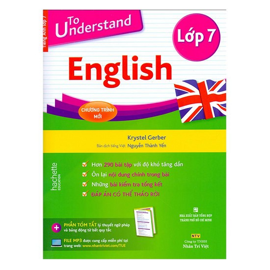 Sách - To Understand English (Lớp 7) - 2392336352068