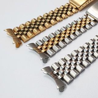 Dây đồng hồ inox đúc không gỉ size 18mm 20mm 22mm kèm chốt và dụng cụ đục cắt dây - D2015