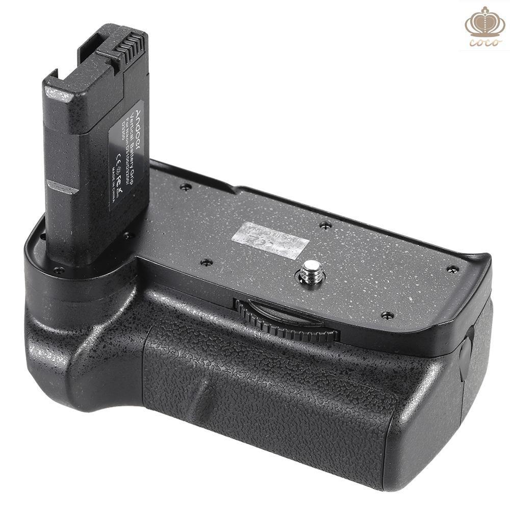 Coco* Andoer BG-2F Vertical Battery Grip Holder for Nikon D3100 D3200 D3300 DSLR Camera EN-EL 14 Battery