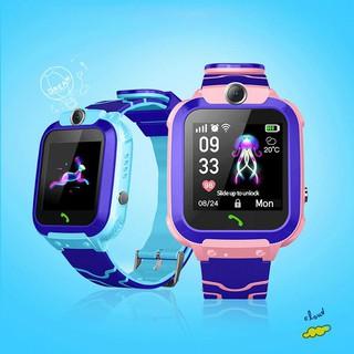 Đồng hồ thông minh dành cho trẻ em Q12-cuộc gọi-định vị (có camera)-chống nước-cuộc gọi khẩn cấp SOS