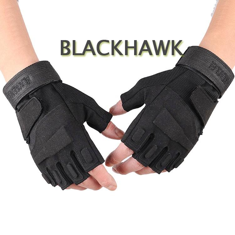 Găng Tay Cụt Ngón BlackHawk Đi Phượt [ 1 đôi ]