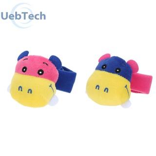 Baby Infant Cute Plush Hand Wrist Bell Developmental Rattle Toy