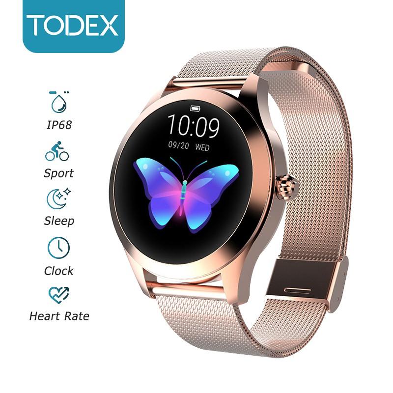 Đồng Hồ Đeo Tay Thông Minh TODEX KW10 Bluetooth Chống Thấm Nước IP68 Thời Trang Cho Nữ