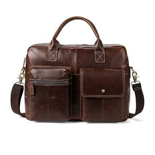Cặp/túi đeo chéo nam công sở – da bò thật cao cấp – 295770