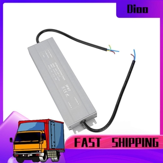 Dioo HRUW-100W-12V Ultra-thin Power Supply IP67 Waterproof LED Driver Transformer 100-240VAC