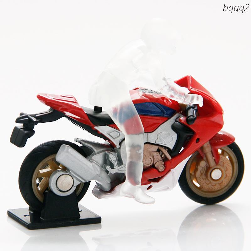 Mô Hình Xe Mô Tô Honda Màu Đỏ