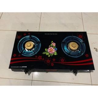 ⭐ [ GIÁ TỐT ] Bếp đôi mặt kinh siêu hot VN70 ( Bảo hành chính hãng ) 💯. tặng kèm dây Gas 1.5m