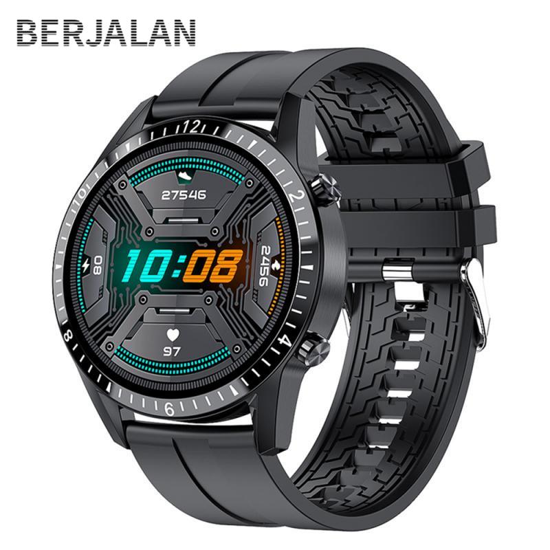 Thông Minh Mới Full Cảm Ứng Màn Hình Tròn Cuộc Gọi Bluetooth Nam Nữ Thể Thao Chống Thấm Nước Đồng Hồ Thông Minh Smartwatch BSW106