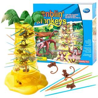 Trò chơi rút khỉ là người chơi khéo léo nhất, làm ít khỉ rơi xuống nhất cuối cùng sẽ chiến thắng UP60164