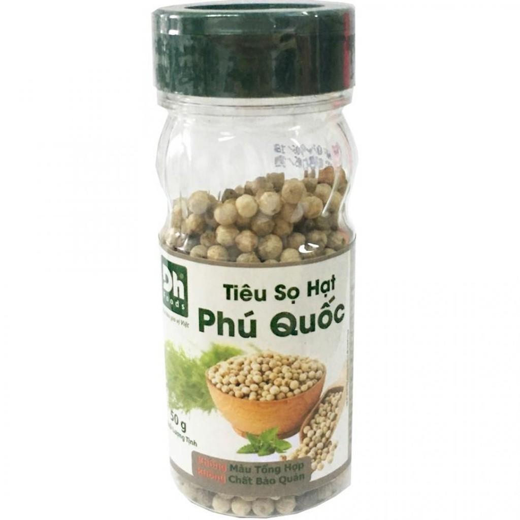 Tiêu sọ hạt Phú Quốc Dh Foods 50gr - 22885437 , 2042609523 , 322_2042609523 , 45500 , Tieu-so-hat-Phu-Quoc-Dh-Foods-50gr-322_2042609523 , shopee.vn , Tiêu sọ hạt Phú Quốc Dh Foods 50gr