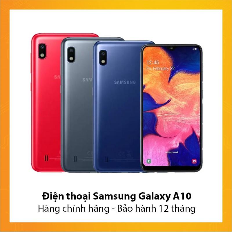 Điện thoại Samsung Galaxy A10 - Hàng mới chính hãng - Bảo hành 12 tháng
