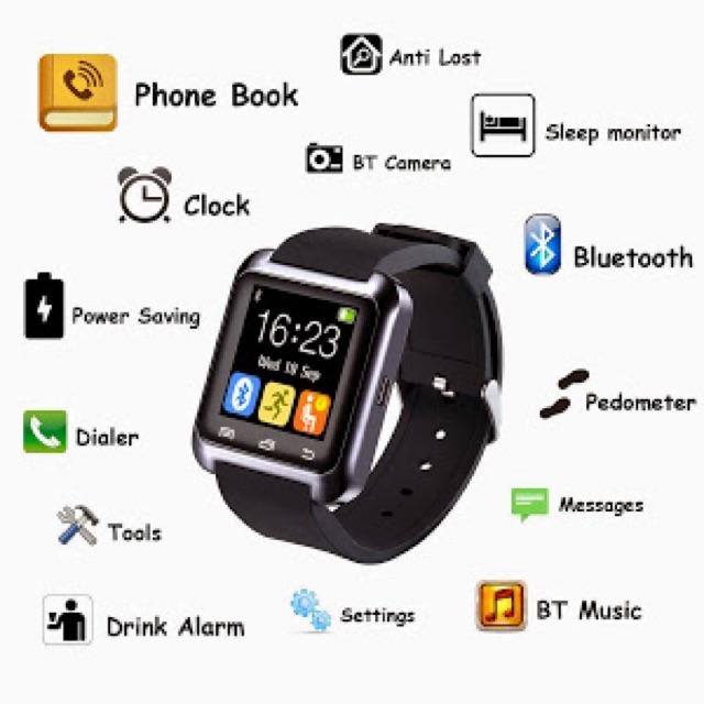 [SALE 10%] Đồng hồ thông minh , smartwatch U8, U80 kết nối bluetooth - 2441856 , 26818697 , 322_26818697 , 165000 , SALE-10Phan-Tram-Dong-ho-thong-minh-smartwatch-U8-U80-ket-noi-bluetooth-322_26818697 , shopee.vn , [SALE 10%] Đồng hồ thông minh , smartwatch U8, U80 kết nối bluetooth