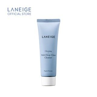 Sữa rửa mặt làm sạch sâu đa chức năng Laneige Multi Deep Clean Cleanser 50Ml - Miniature