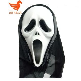 mặt nạ halloween Scream Sát nhân giấu mặt-f71 _rẻ free