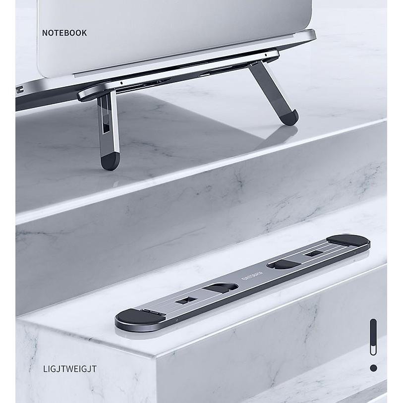 Đế Nhôm cao cấp CNC Tản Nhiệt Cho Laptop Macbook - Nhỏ gọn - Bao chất