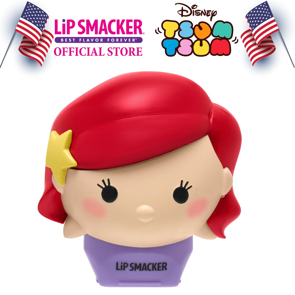 Son Lip Smacker Disney Tsum Tsum Nàng Tiên Cá Ariel 7.4g