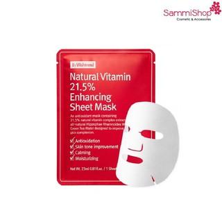 Mặt nạ bywishtrend Natural Vitamin 21.5 Enhancing Sheet Mask
