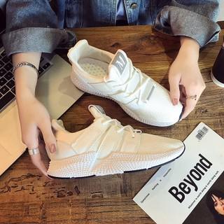 giày thể thao nữ màu trắng, cam , giày thể thao nữ đế cao, giày nữ sneaker