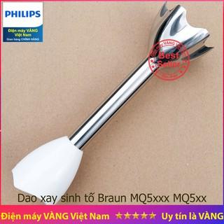 Thanh dao xay inox máy xay cầm tay Braun MQ5000 MQ5035 MQ5045