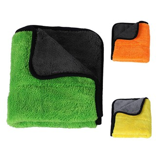 ☀Ultra Soft Coral velvet Car Cleaning Cloth Buffing Wax Polish Towels Fast Drying Multi-purpose 45x38cm