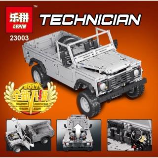 [ Hàng order 7-10 ngày ] Lepin technician – 23003 – Rc Wild Off-Road Vehicles ( bao gồm Remote )