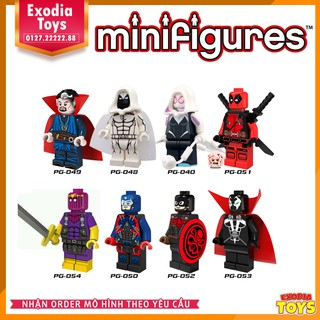 Bộ 8 minifigure nhân vật siêu anh hùng – PG8014