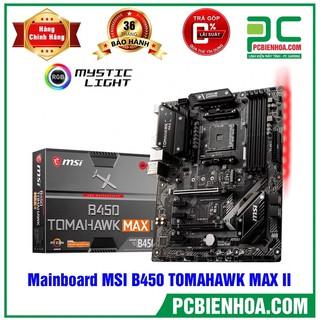 [Mã ELCL2MIL giảm 7% đơn 2TR] Bo mạch chủ MAINBOARD MSI B450 TOMAHAWK MAX II mới 100% chính hãng thumbnail