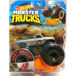 Xe quái vật Hot Wheels Monster Trucks V8 Bomber GBT92