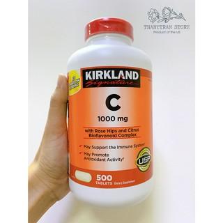 Viên Uống Bổ Sung Vitamin C 1000mg KIRKLAND SIGNATURE