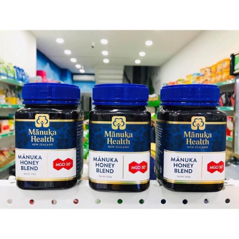 Mật ong Manuka Health MGO 30+ 500gram
