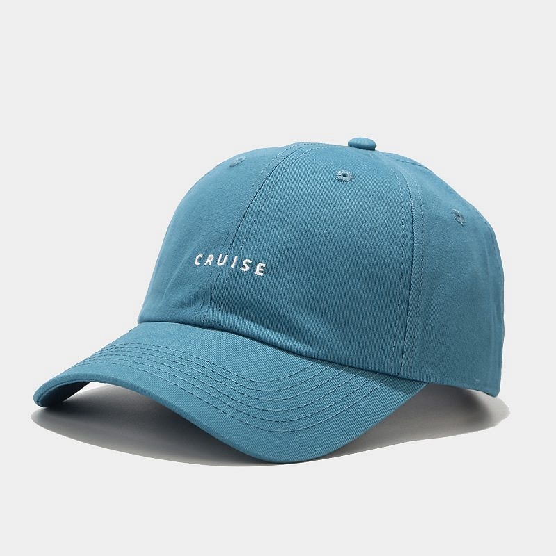 LINJW 2021 New soft Fashion student adjustable cotton baseball cap #6