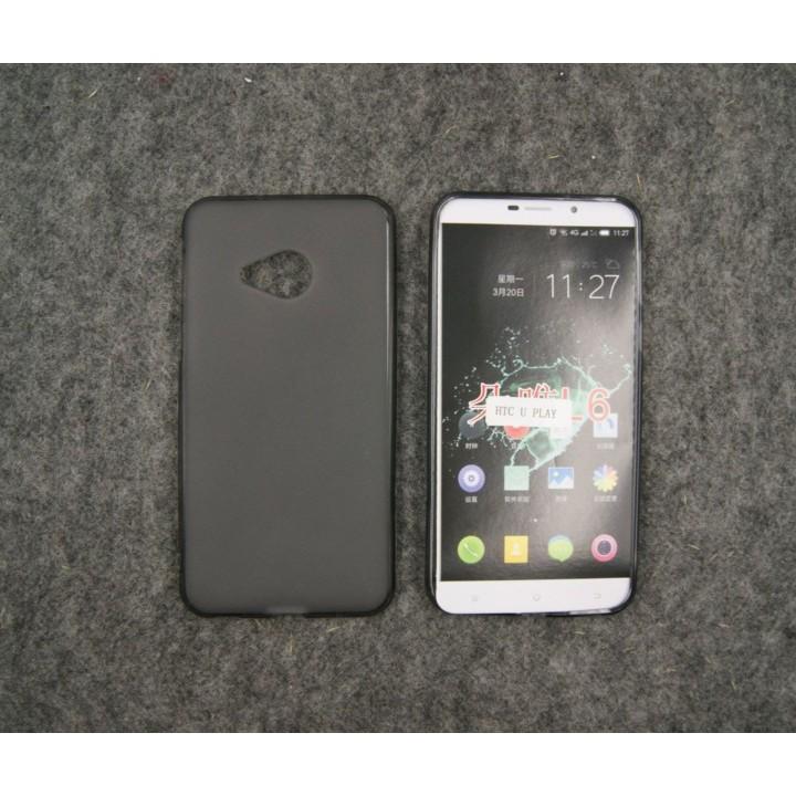 Ốp lưng HTC U Play dẻo đen