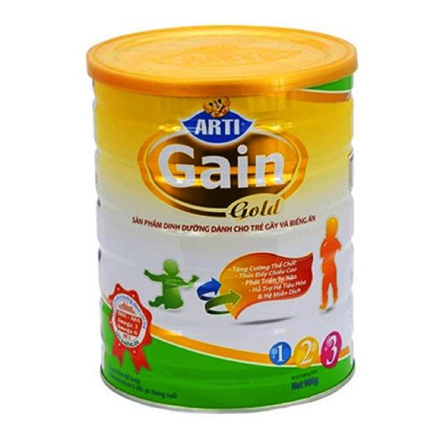 Sữa arti gain gold 123 hộp 900g ( đặc trị trẻ gày ) - 3470883 , 1249789976 , 322_1249789976 , 310000 , Sua-arti-gain-gold-123-hop-900g-dac-tri-tre-gay--322_1249789976 , shopee.vn , Sữa arti gain gold 123 hộp 900g ( đặc trị trẻ gày )
