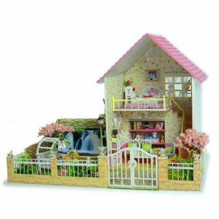 Mô hình nhà gỗ lắp ráp DIY – Kèm nhạc – 13019 Sakura love