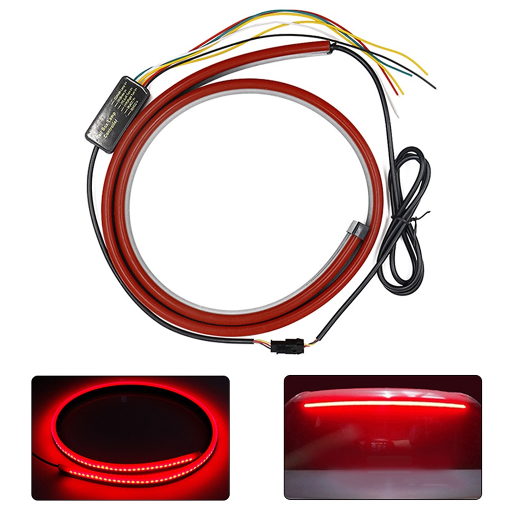 Car Accessories Warning High Level Durable Turn Signal Easy Install Driving Brake Light