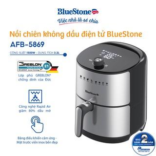 [Mã ELHAR15 giảm 15% đơn 500K] Nồi chiên không dầu điện tử BlueStone 3.2L AFB-5869 thumbnail