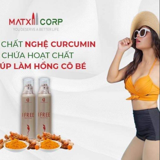 Dung dịch vệ sinh phụ nữ ifree