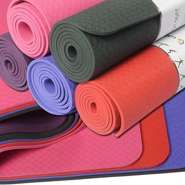 Thảm tập Yoga - gym Âu Lạc loại Cao Cấp tặng túi