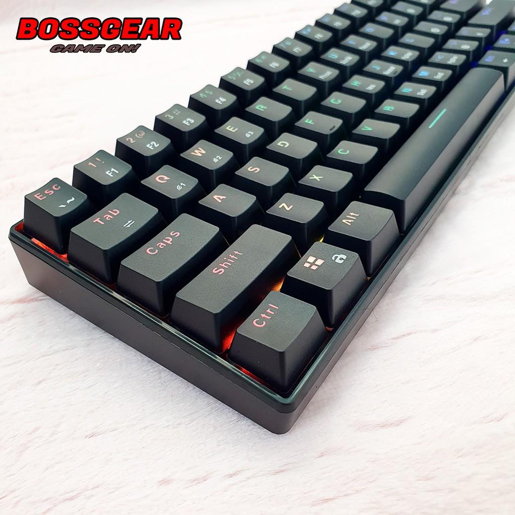 Bàn phím cơ E-DRA EK361W RGB ( EDRA EK361W Bluetooth, LED RGB, Pin 2000 mA )