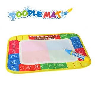 29x19cm Water Drawing Mat Doodle Mat Non-toxic Educational Toys for Kids