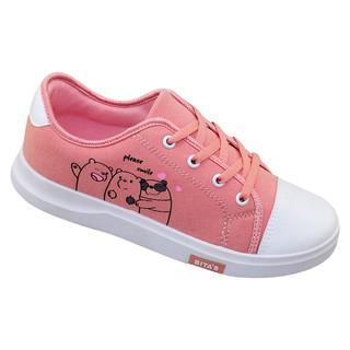 Giày thể thao bé gái Bita's GVBG.85 (Cam + Trắng + Đen)