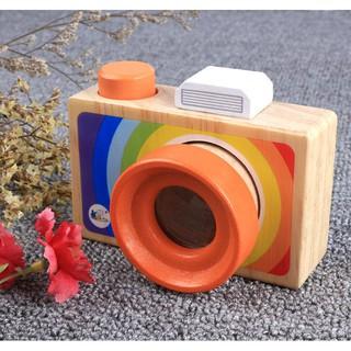 Bộ 2 đồ chơi máy ảnh kính vạn hoa rèn kỹ năng quan sát cho bé[Tmarkvn]
