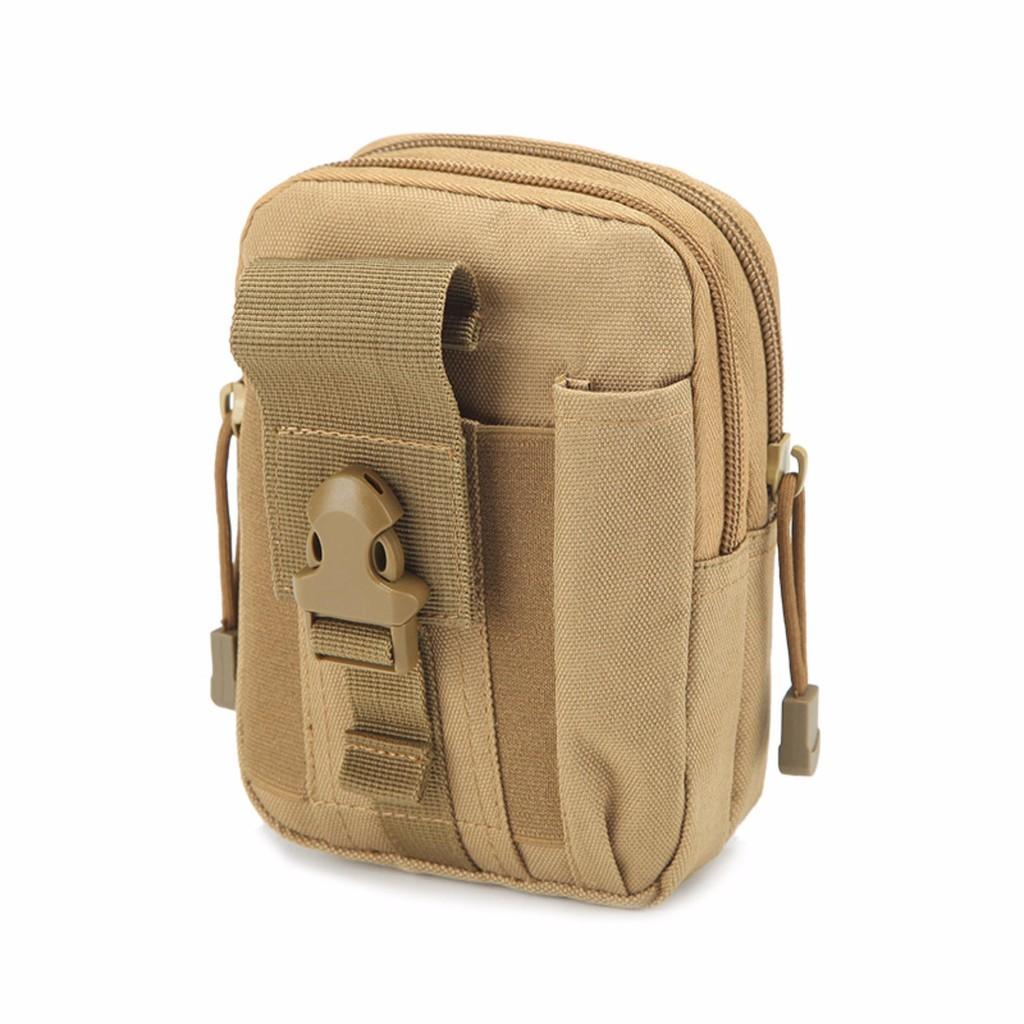 Túi EDC đeo hông du lịch chống nước (Màu Cát sa mạc)