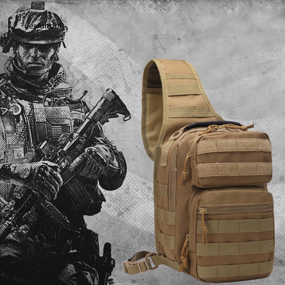 ღues_Outdoor Camping Tactical Travel Daypack Waterproof Chest Waist Bag Fanny Pack