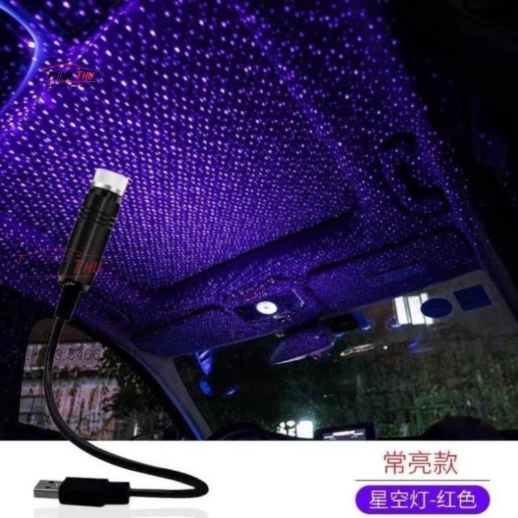 Đèn led laser bầu trời sao đầu cắm usb tiện dụng có thể điều chỉnh hiệu ứng ánh sáng