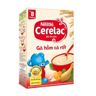 Bột ăn dặm Nestle Cerelac - Gà hầm cà rốt (200gr) thumbnail