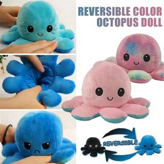 bạch tuộc cảm xúc Gấu Bông Bạch Tuộc Cảm Xúc có 2 mặt khác nhau, nhiều màu, kích thước 20cm valentine octopus lele3c thumbnail