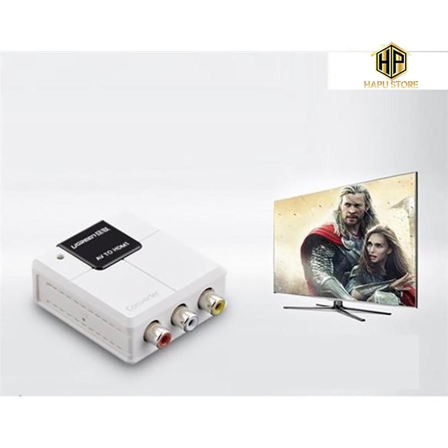 Bộ chuyển đổi AV to HDMI Ugreen 40225 chính hãng - Hapustore