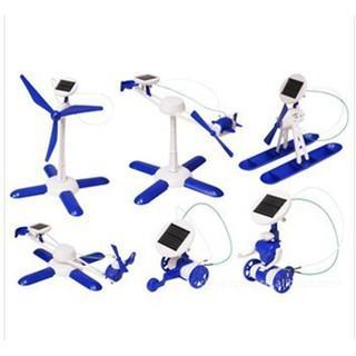 Kids' Educational Science DIY Toy Kit 6 in 1 Solar Kit Educational Robotics