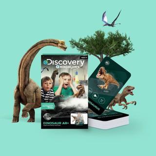 [DISCOVERY DINOSAUR AR] Bộ thẻ Khủng long Dinosaur AR cho bé khám phá